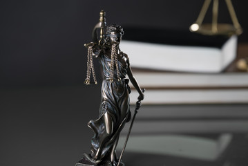 Statue of justice, Law concept, Temida - Themis