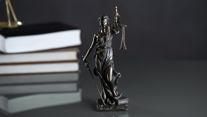 Statue of justice, Law concept, Temida - Themis