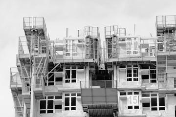 Housing construction in Hong Kong