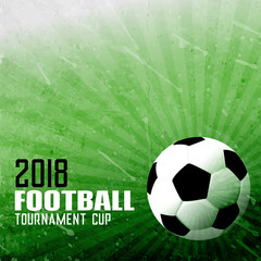 foorball sports background in abstract style