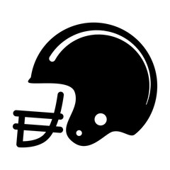 Vector icon american football helmet