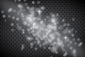 Set of golden shining lights isolated on a transparent background. Light effect of glow. The star flashed with sequins.