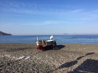 Spiaggia di Lipari isole Eolie