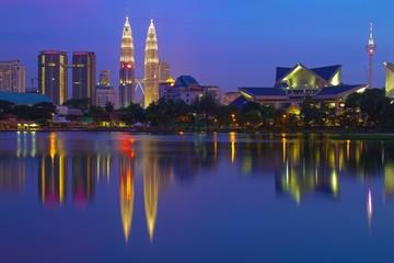 Fotorolgordijn Kuala Lumpur Skyline Kuala Lumpur