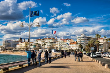 Saint-Raphael, Strandpromenade
