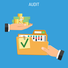 Auditing, Tax, Accounting Concept