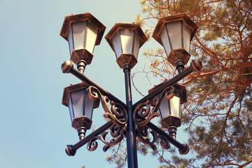 old, design, metal, architecture, vintage, lamp, style, city, white, texture, decoration, retro, close-up, street, city, history, lantern, urban, equipment, exterior, antique, object, traditional, str
