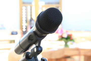 Mikrofon in einer Kirche