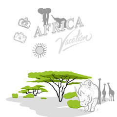 Africa travel marketing cover