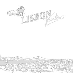 Lisbon travel marketing cover