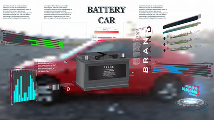 Engineering interface against mechanic changing car battery