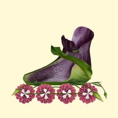 Flower inline skaters