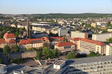 Chemnitz city view