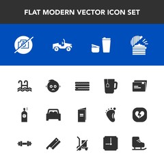 Modern, simple vector icon set with file, paper, skating, document, ice, send, paint, camera, kid, clock, hour, picture, sad, car, sugar, photo, book, water, no, baby, spray, winter, burger, tea icons