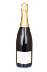 Bottle Champagne Isolated on white background