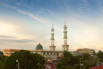 Anyusro Mosque in Bangkok , Thailand
