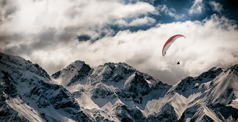 Fly in the Mountains