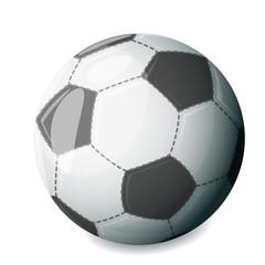 Isolated football ball sport icon vector illustration