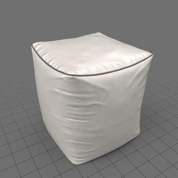 Mid-century pouf