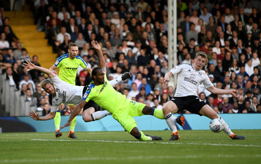 Championship Play Off Semi Final Second Leg - Fulham vs Derby County