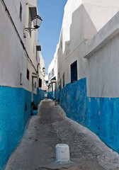 594/5000 Scenes from the city of Fez in March 2011. Morocco  The kasbah of the oudayasn the city of Rabat. Morocco