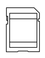 SDカード模様(線画)