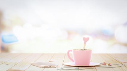 coffee drink vintage background