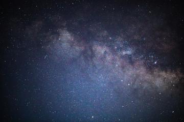 milky way galaxy close up