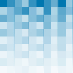 Abstract blue squares, texture from abstract transparent blue squares.