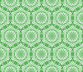 seamless geometric pattern. modern ornament. vector illustration. design for fashion, interior, background