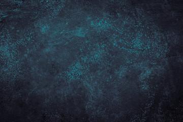 Blue stone slate background.