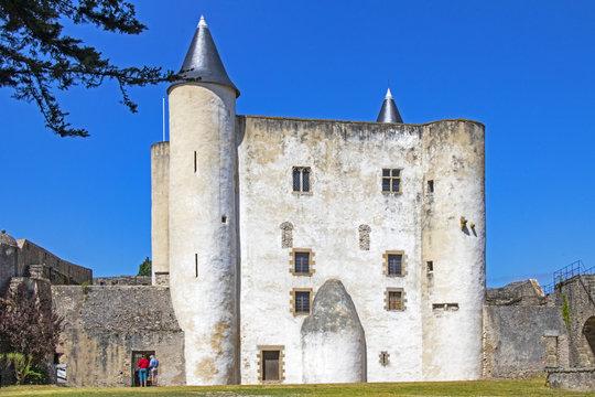 Noirmoutier. Le château; Vendée. Pays de Loire