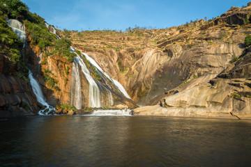 Ezaro waterfall, Galicia, Spain