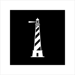 Lighthouse Icon, Light House Icon