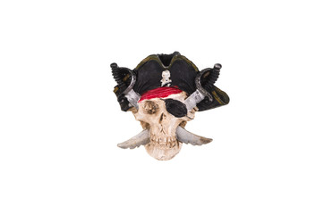 pirate, white isolated background