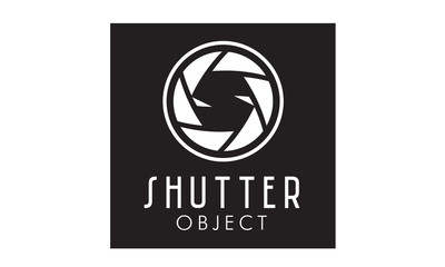 Shutter Lens with initial S negative space for photographer  logo design inspiration
