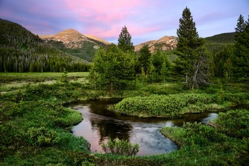 Indian Peaks Wilderness Area, near Winter Park Colorado Wall mural