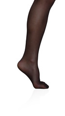woman tights leg