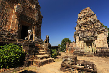 Eastern Mebon Temple, Temples of Angkor, Cambodia