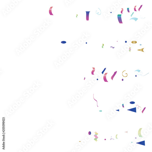 trendy xmas party tinsel vector foil confetti cool foil border fireworks explosion blast burst