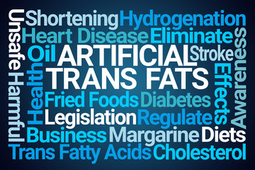 Artificial Trans Fats Word Cloud