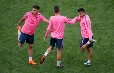 Europa League Final - Atletico Madrid Training