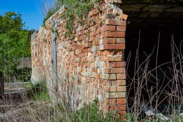 Klinkermauer Ruin