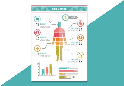 Human Body Diagram Chart Layout