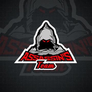 Assassin`s Team logo templare.