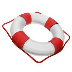 Illustration of a life buoy.