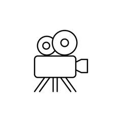 cinema camera icon. Element of web icon for mobile concept and w