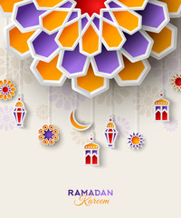 Ramadan Kareem concept banner