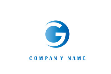 Letter G Logo Design Vector.