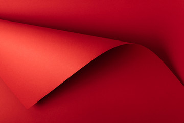 bright red decorative paper background